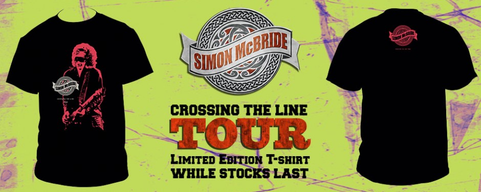 Simon McBride Limited Edition T-Shirt
