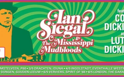 Ian Siegal & The Mississippi Mudbloods are back on the road