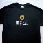 Ian Siegal T-shirt, black