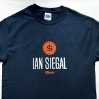 Ian Siegal T-shirt, dark blue