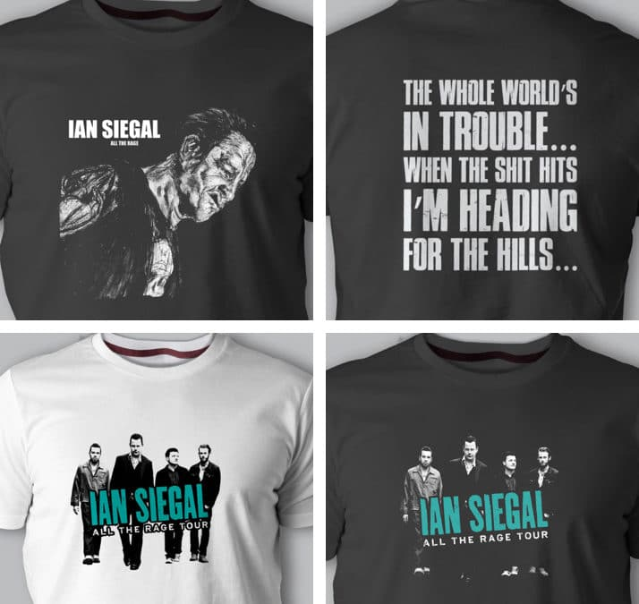 Ian Siegal T-shirts Limited Stock