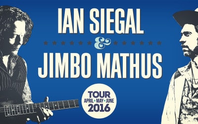 Ian Siegal to tour again with Jimbo Mathus